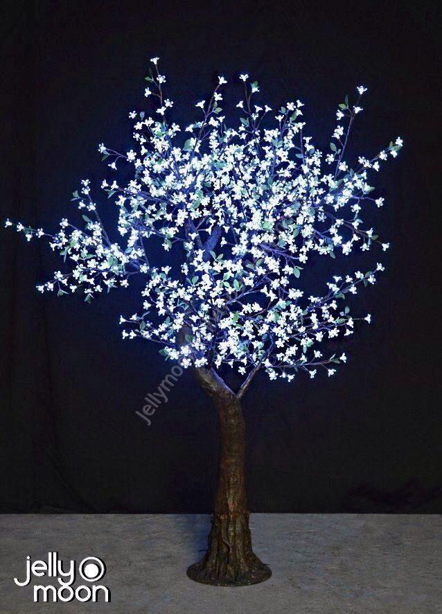 Как сделать световые деревья
